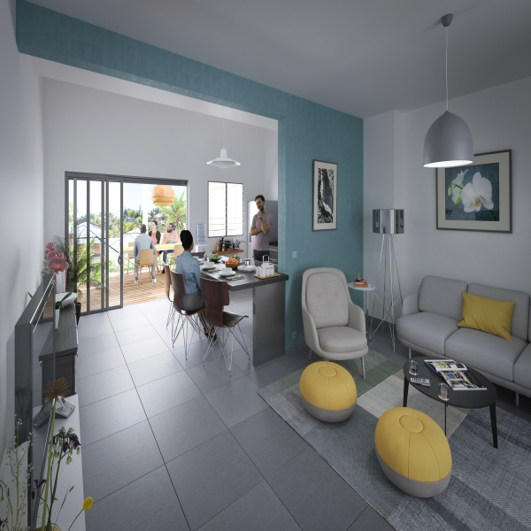 Programme neuf Appartement Saint francois 97118